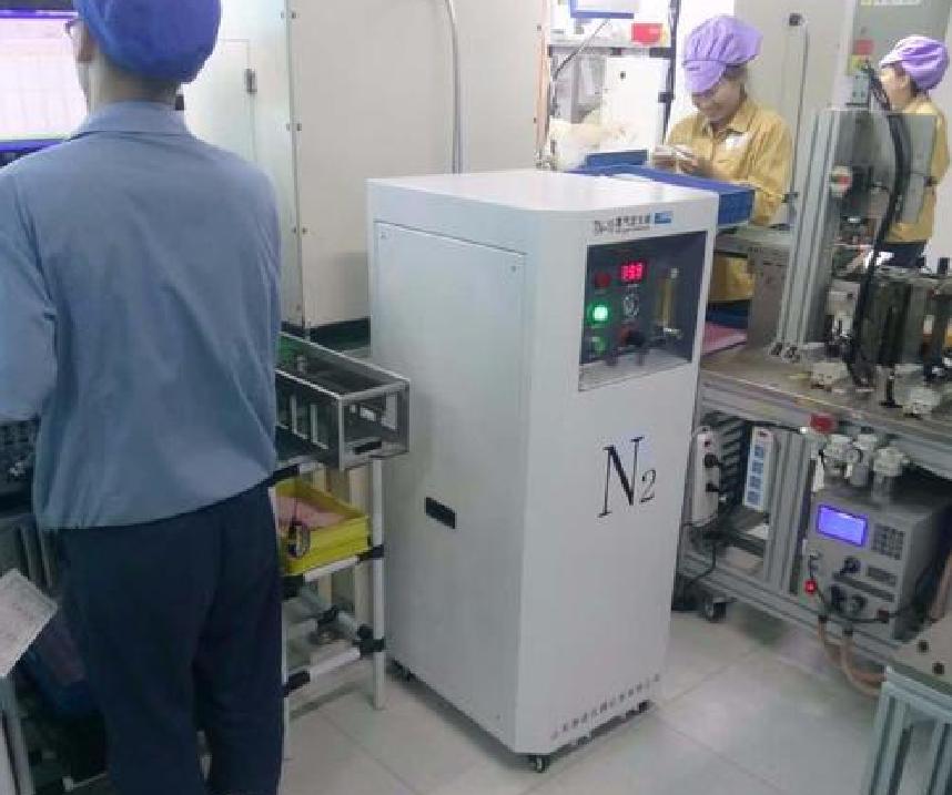 江苏苏州氮气发生器安装调试现场